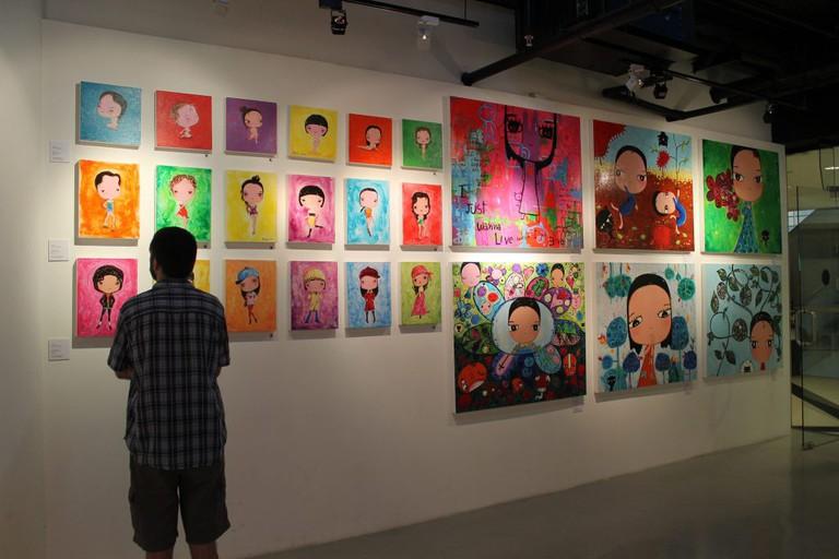 Steve and art