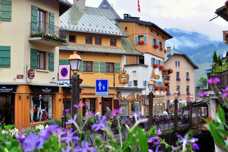 Megeve is a famous ski resort located in Haute Savoy province, France.