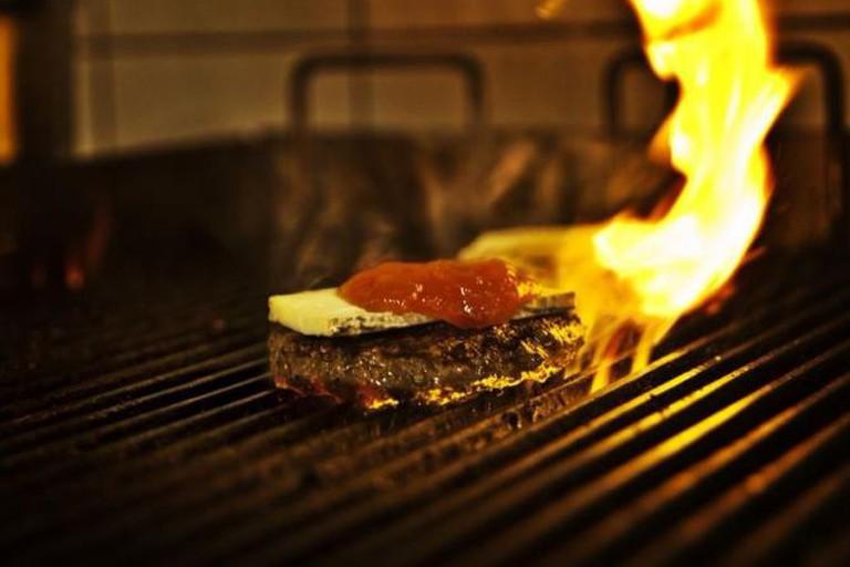 Døgnvill's delicious burgers