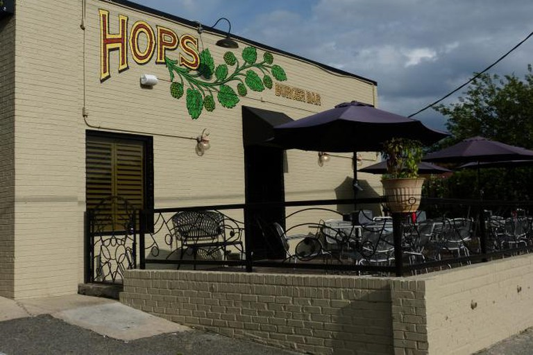 Hops Burger Bar, Spring Garden Street
