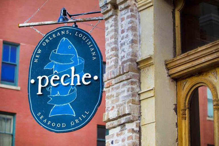 Exterior of Peche