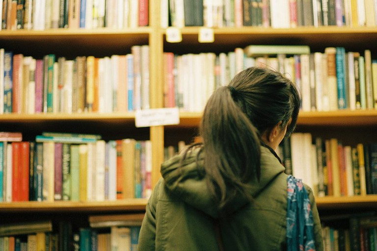 Bookstore Browsing, Chase Elliott Clark