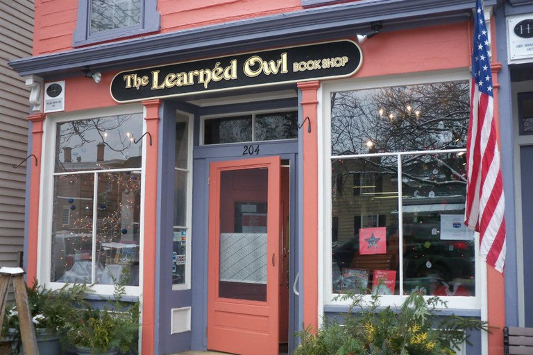 Learned Owl Book Shop, Hudson