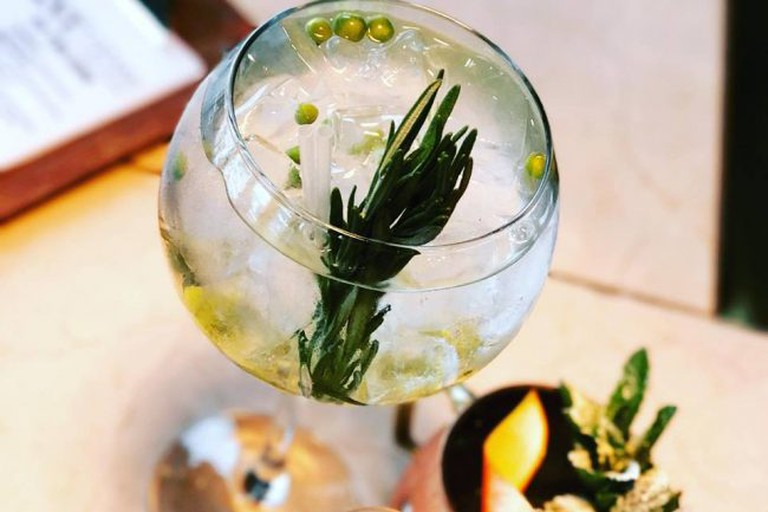 Green Pea G&T