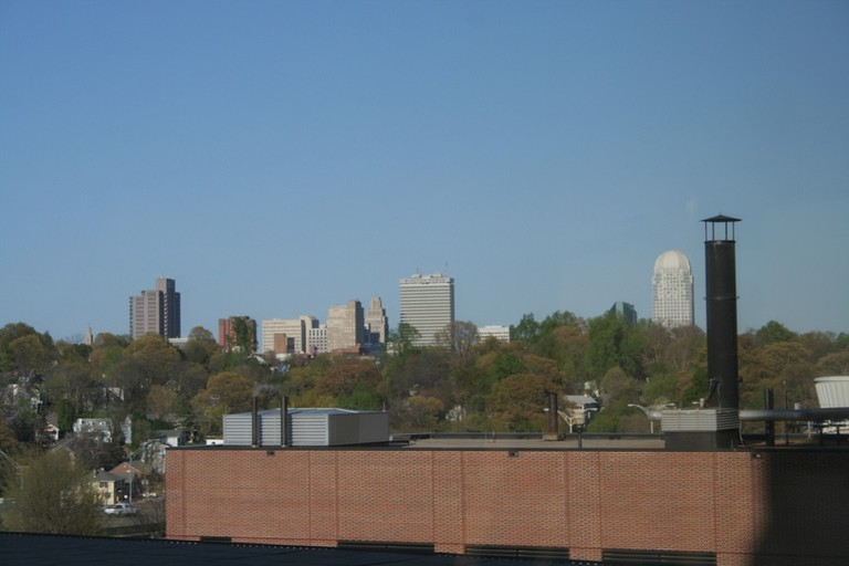 Winston-Salem from afar