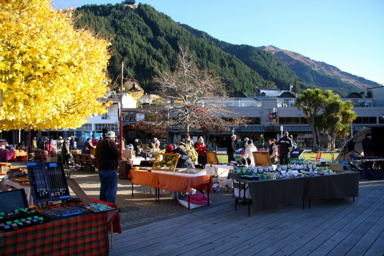 Saturday Market in Queenstown