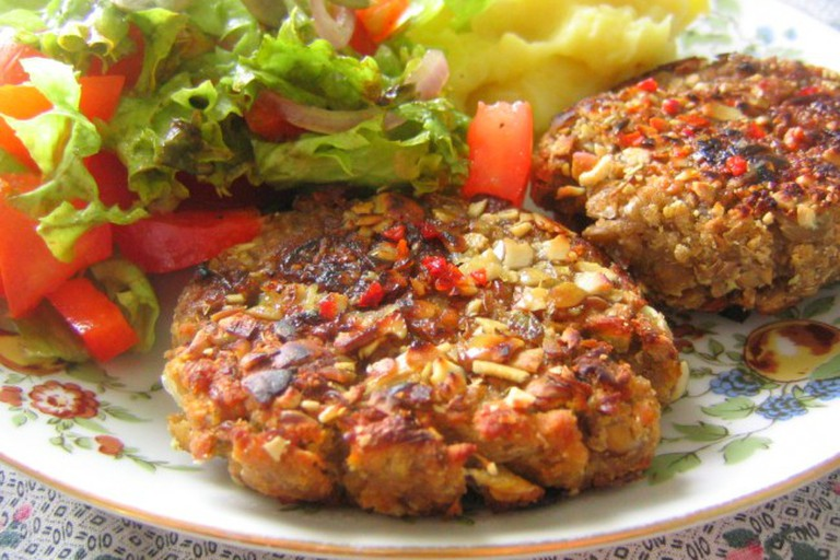 Vegetarian patties