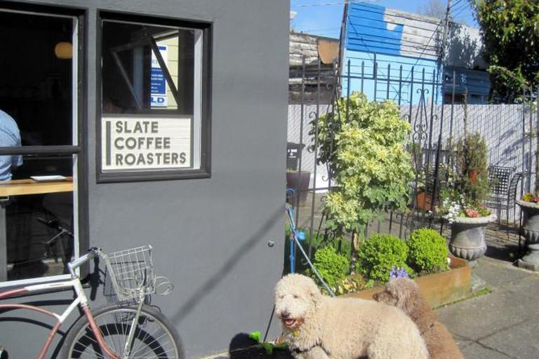 Slate Coffee exterior
