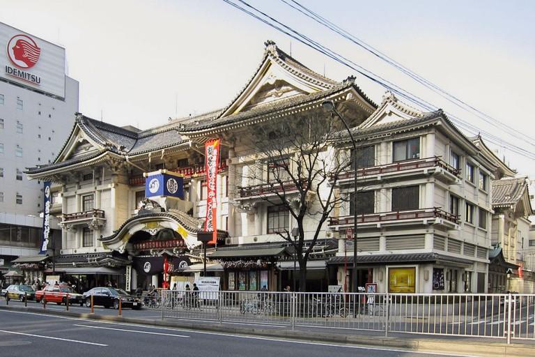Kabuki-za is Tokyo's premier kabuki theatre
