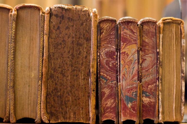 Stylish antique books