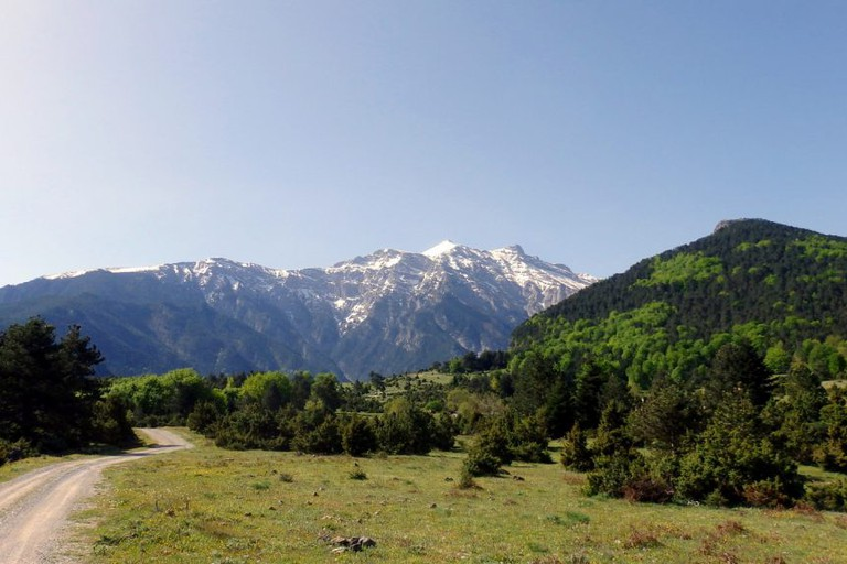 Road to the Gods, Mount Olympus, Greece