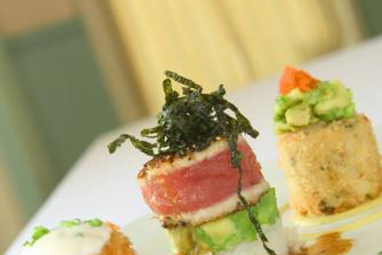 'The Cake Walk' appetizer at Lahaina Grill