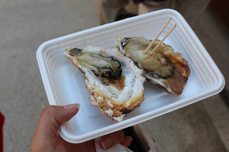 Oysters in Hiroshima