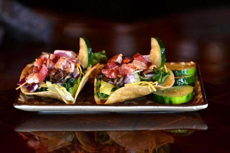 Twigs' Award-winning Gluten-free Ahi Taco Bowl