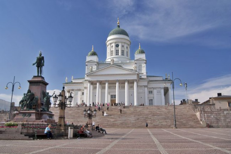 Helsinki Cathedral and the Senate Square