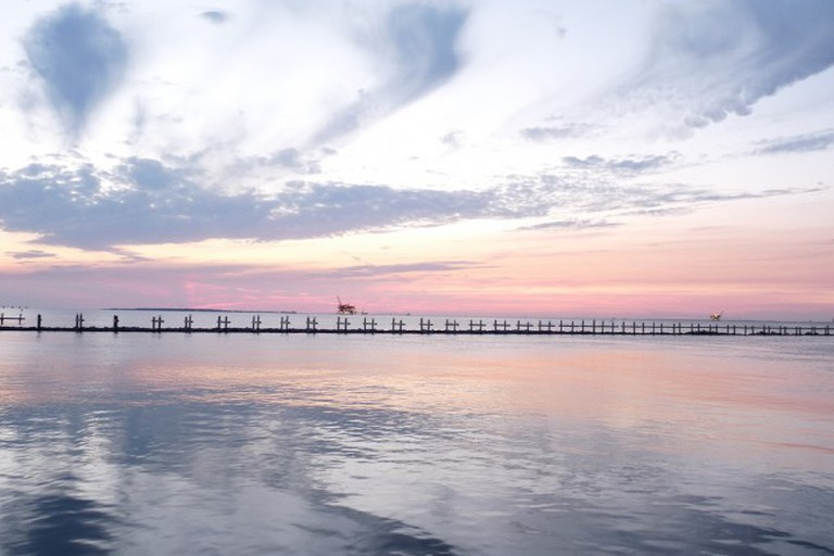 Mobile Bay at Sunset