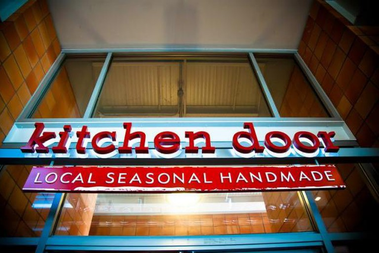 Kitchen Door in Oxbow Market