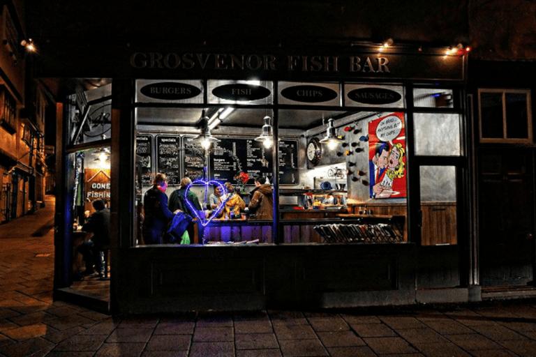 Exterior of the restaurant