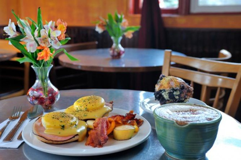 A signature breakfast at Java Coffee & Café