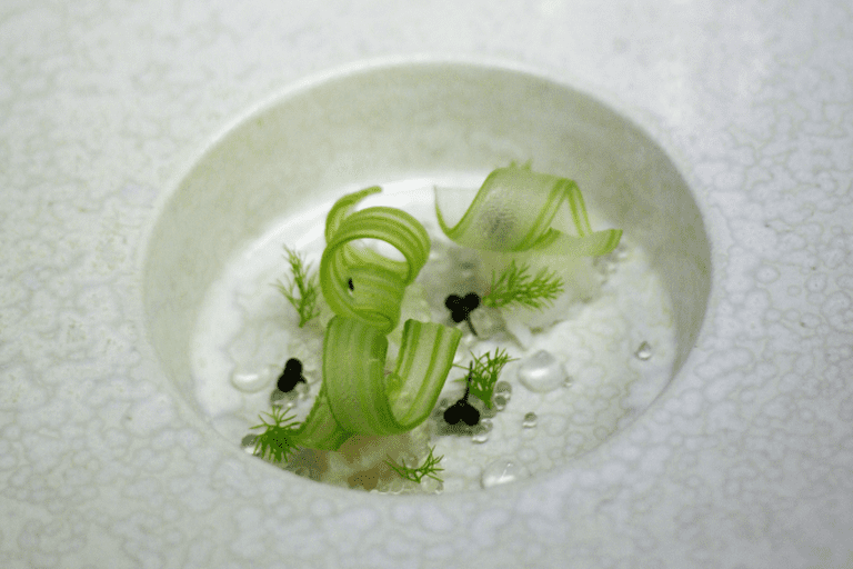 A signature dish at Vollmers