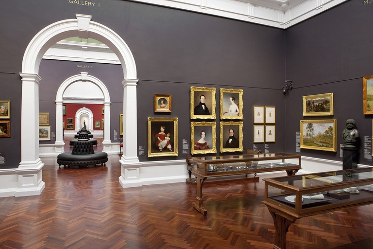 Installation view Elder Wing of Australian Art, Art Gallery of South Australia 2012