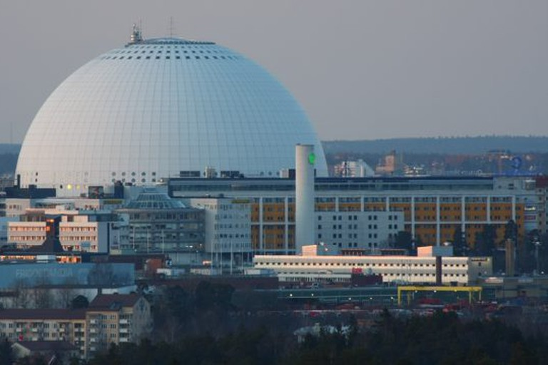 The world's largest spherical building