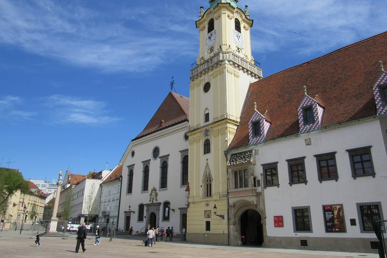 Climb the Old Town Hall Tower for great views of Bratislava's central square