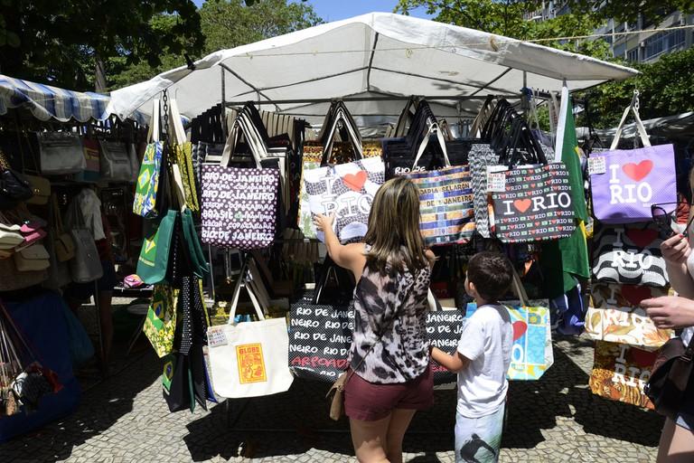 Hippie market in Ipanema