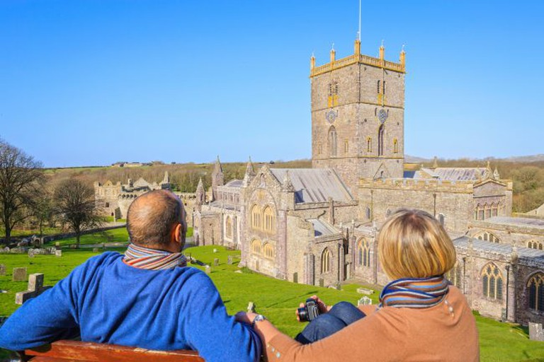 View of St Davids. Image: Visit Wales