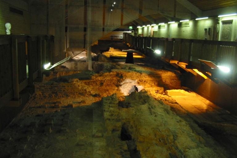 The Roman Baths.