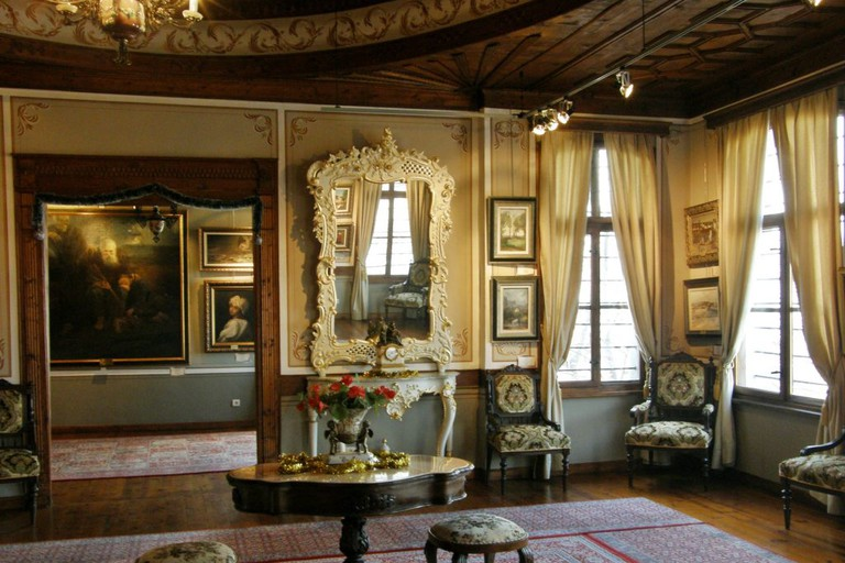 Inside Philippopolis Gallery, Plovdiv