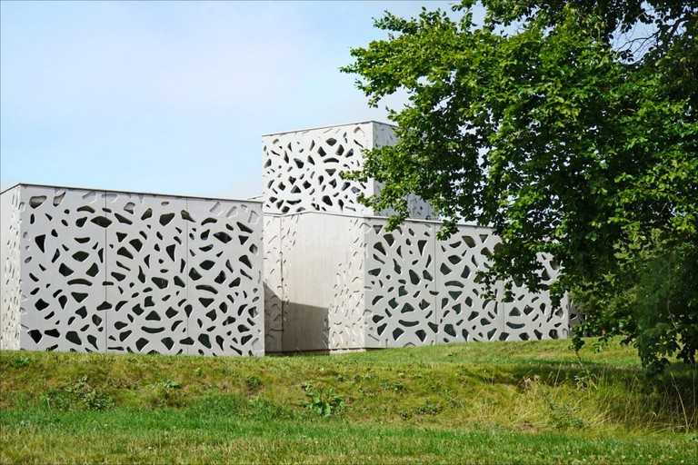 Le nouveau bâtiment du LAM (Villeneuve-d'Ascq)