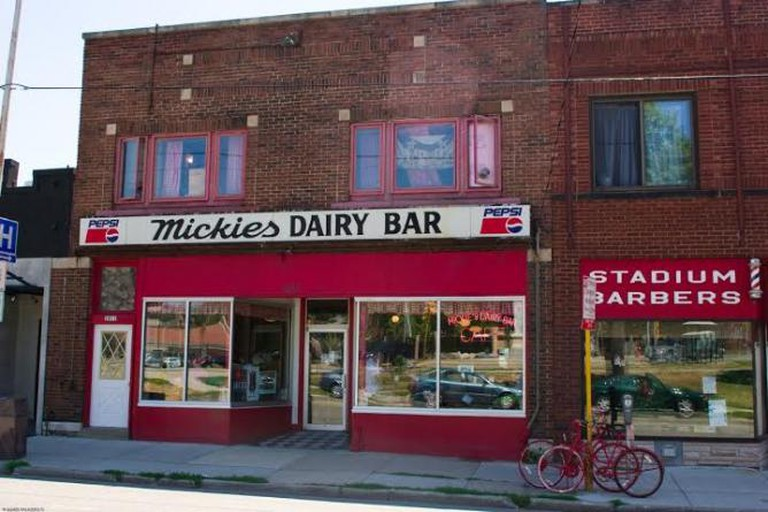 Exterior of Mickies Dairy Bar