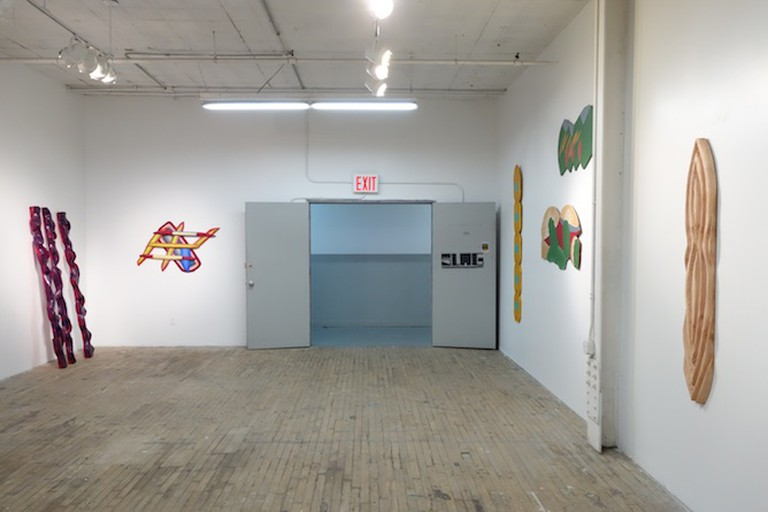 Installation view of Dumit Gorzo Exhibition 'NO TITLE'