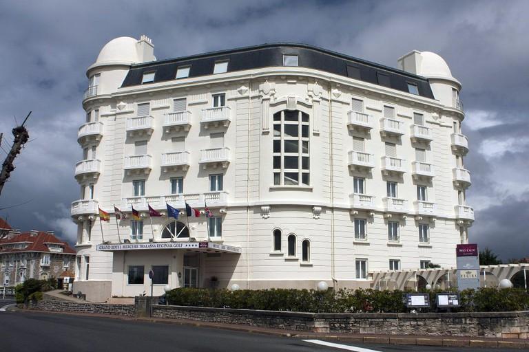 Hôtel Régina vu du sommet du phare de Biarritz
