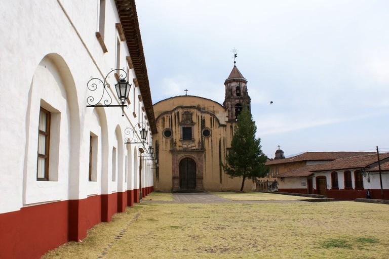 A street in Patzcuaro