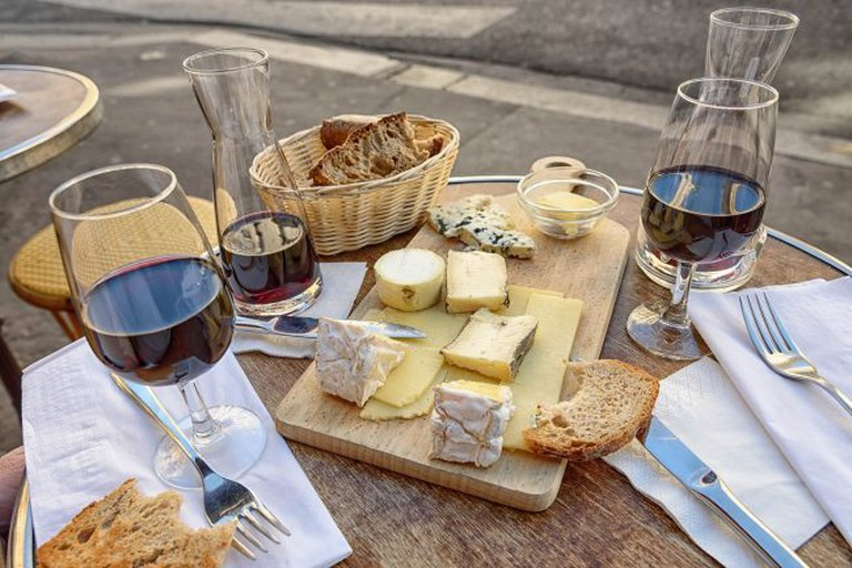 Wine and cheese: a classic, tasty combination