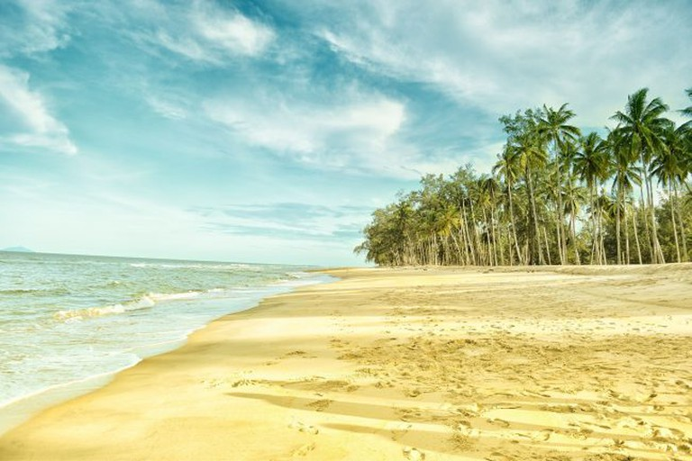 Relax on one of Ghana's beautiful beaches