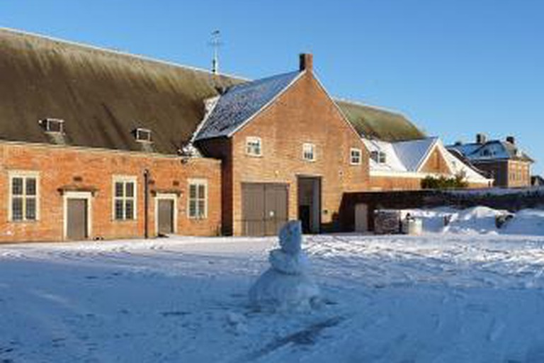 Stable Block (Rear View), Tredegar House, Newport