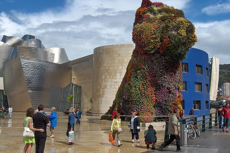 Puppy by Jeff Koons, Guggenheim Bilbao