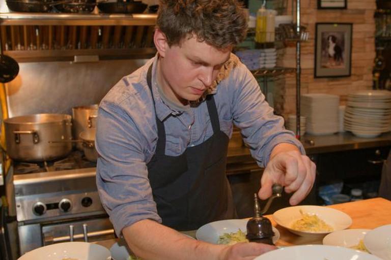 Coppia's chef Adam Ruplinger