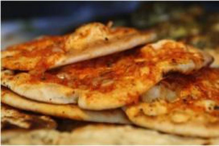 Pita from the Houri Bakery