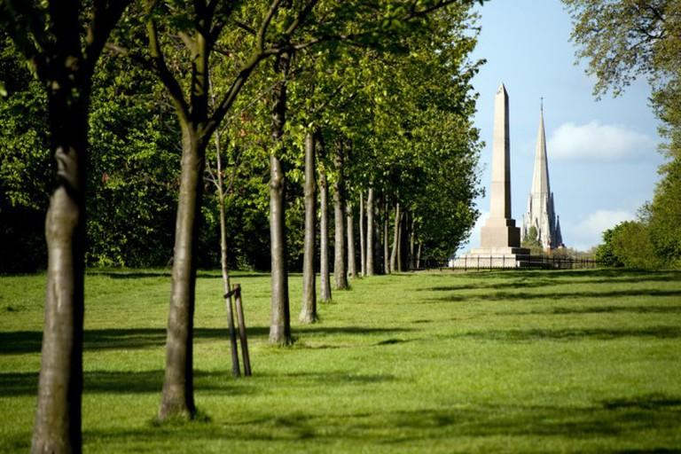 Speke Monument, Kensington Gardens