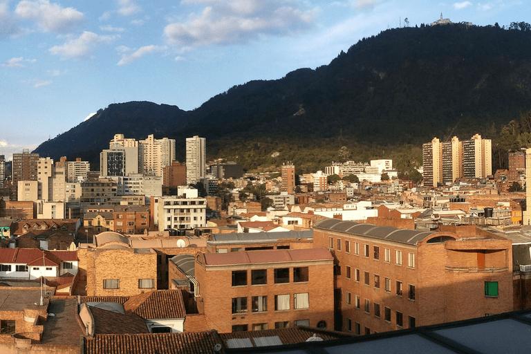 La Biblioteca Luis Angel Arango rests in the heart of Bogotá's historical La Candelaria district