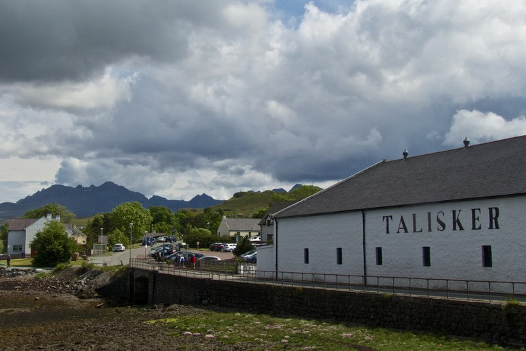 Talisker and the Black Cuillin