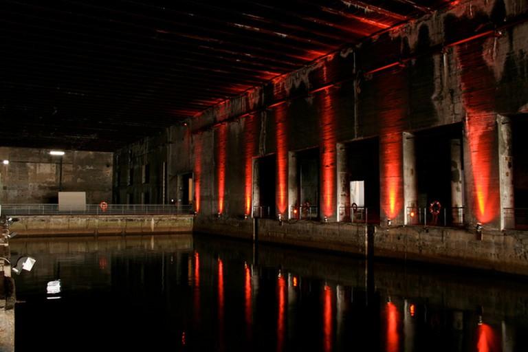A glimpse of Bordeaux's impressive base sous-marine