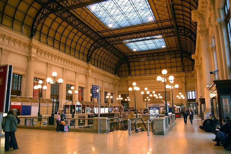 Inside Bordeaux's Gare Saint Jean