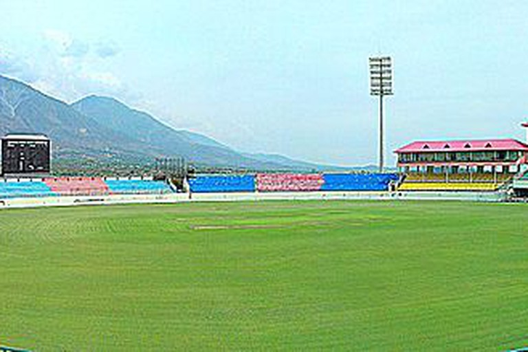 A panorama of HPCA Stadium