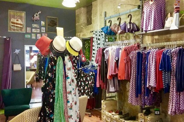 Colorful designs and a retro atmosphere at La Boutik'