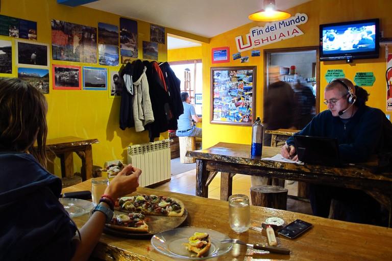 Hostel life in Ushuaia